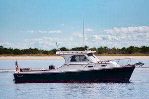 Used Mathews Brothers Patriot 29 Downeast Fishing Boat For Sale