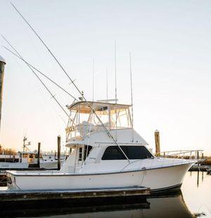 Used Henriques 38 Sportfisherman Saltwater Fishing Boat For Sale