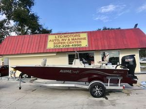 New Alumacraft 20 Coastal Bay Center Console Fishing Boat For Sale