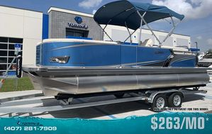 New Tahoe 2485 LTZ Quad Lounger Pontoon Boat For Sale