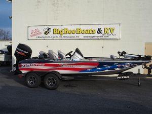 Used Nitro Z19 Freshwater Fishing Boat For Sale