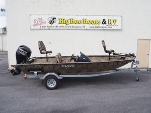 New Lowe Stinger 175 Poly Camo Bass Boat For Sale