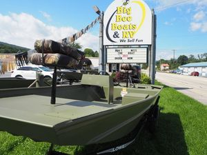 New Lowe Roughneck 1755 Big River Freshwater Fishing Boat For Sale