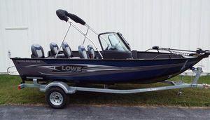 New Lowe FM 165 Pro WT Freshwater Fishing Boat For Sale