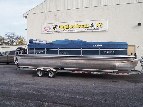Used Lowe SS Pontoon 250 Walk Thru Pontoon Boat For Sale