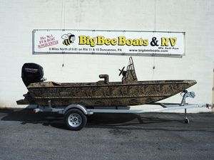 New Lowe Roughneck 1660 Pathfinder Freshwater Fishing Boat For Sale