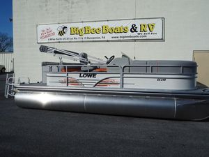 New Lowe SS 210 V Pontoon Boat For Sale
