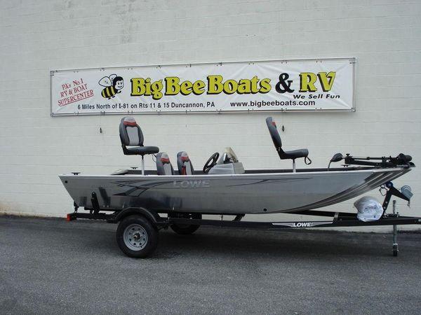 New Lowe Stryker 16 Freshwater Fishing Boat For Sale