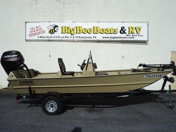 Used Lowe Roughneck 1860 Jet Jon Boat For Sale