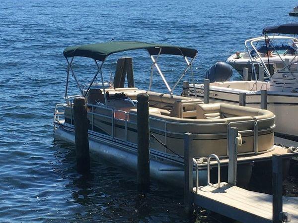 Used Harris 24 FloteBote Pontoon Boat For Sale