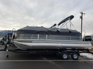 New South Bay 222RS LE 2.75 Pontoon Boat For Sale