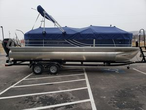New South Bay 224RS LE 2.75 Pontoon Boat For Sale