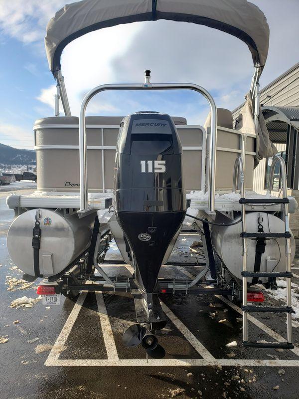 Used Premier 220 SunSation Pontoon Boat For Sale