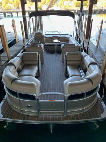 Used Berkshire 23CL4G STS Pontoon Boat For Sale