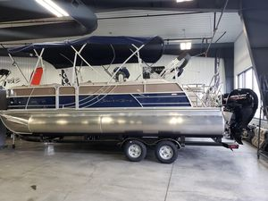 New South Bay 224SB2 2.75 Pontoon Boat For Sale