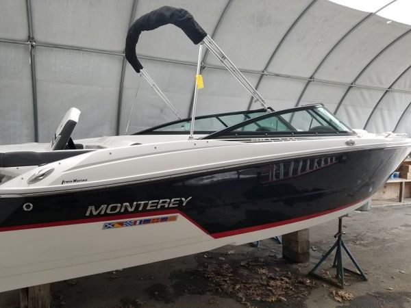 Used Monterey 218SS Sports Fishing Boat For Sale