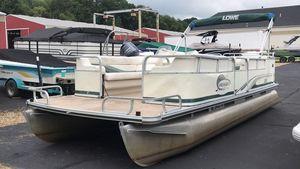 Used Lowe Suncruiser Trinidad 220 Pontoon Boat For Sale