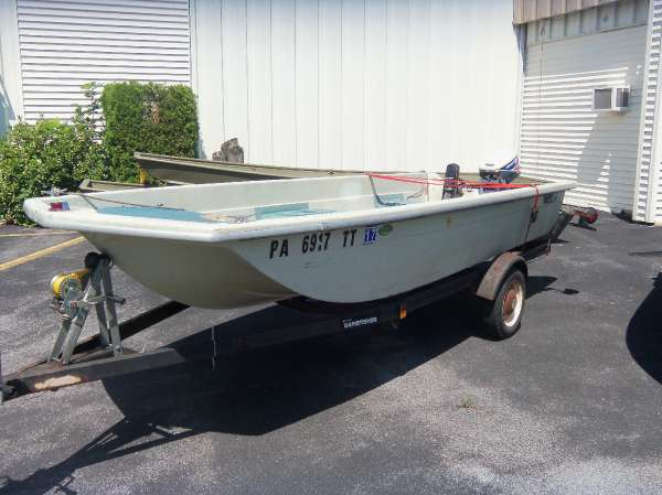 Used Sears Utility Tri hull Utility Boat For Sale