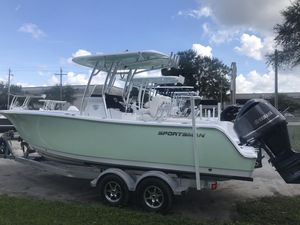 New Sportsman Heritage 241 Center Console Fishing Boat For Sale