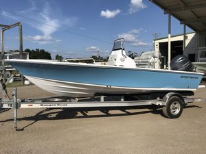 New Sportsman 207 Masters Bay Boat For Sale