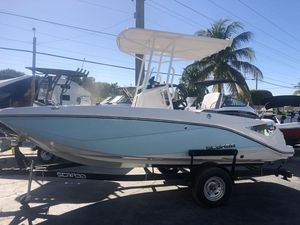 Used Scarab 195 Open ID Center Console Fishing Boat For Sale