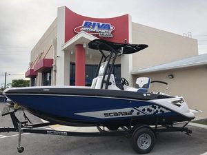 New Scarab 195 Open ID Center Console Fishing Boat For Sale