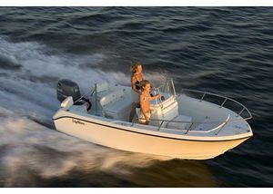 Used Edgewater 170CC Saltwater Fishing Boat For Sale