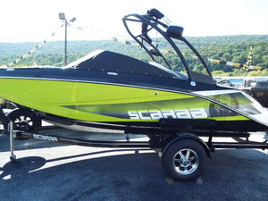 New Scarab 195 HO Impulse Ski and Wakeboard Boat For Sale