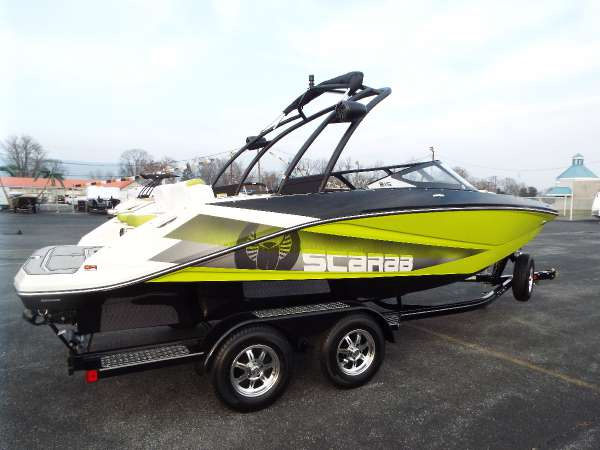 New Scarab 215 HO Impulse Ski and Wakeboard Boat For Sale