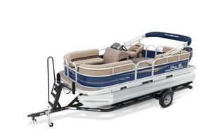 New Sun Tracker Signature Party Barge 18 w/75ELPT 4S Pontoon Boat For Sale