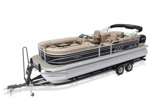 New Sun Tracker Signature Party Barge 24 XP3 w/150L 4S Pontoon Boat For Sale