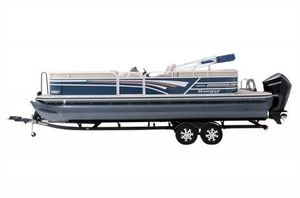 New Ranger RP243C w/200L 4S DTS Pontoon Boat For Sale