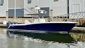 Used Invincible 36 Open Fisherman Saltwater Fishing Boat For Sale