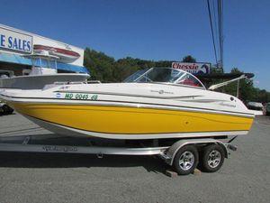 Used Hurricane SUNDECK 187 Deck Boat For Sale