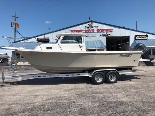 New Parker 2320 SL Sport Cabin Freshwater Fishing Boat For Sale