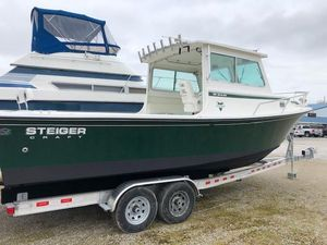 Used Steiger Craft 26' Miami Freshwater Fishing Boat For Sale