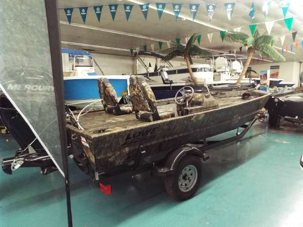 New Lowe Roughneck 1650 SC Bass Boat For Sale