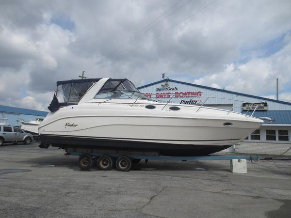 Used Rinker 342 Fiesta Vee Power Cruiser Boat For Sale