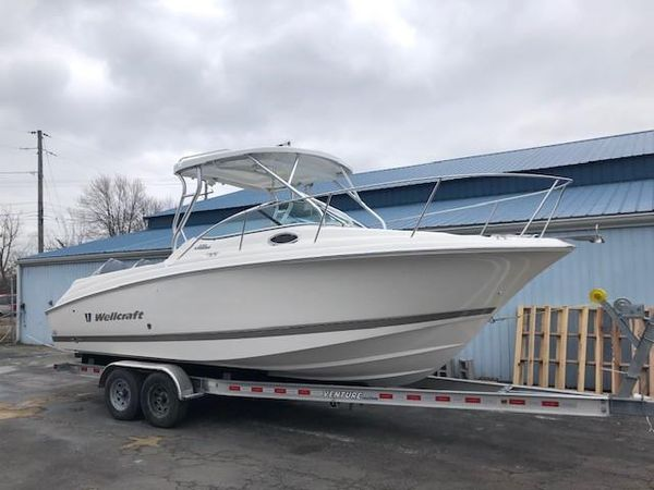 Used Wellcraft 252 Coastal Saltwater Fishing Boat For Sale