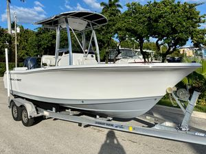 Used Sea Hunt Triton 210 Saltwater Fishing Boat For Sale