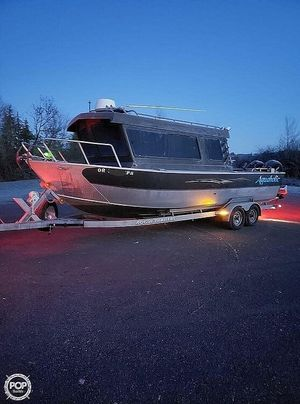Used Alumaweld Pacific 27 Aluminum Fishing Boat For Sale
