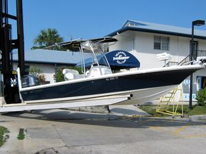 Used Key West 246 Bay Reef Saltwater Fishing Boat For Sale