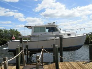 Used Burpee 27 Offshore Downeast Fishing Boat For Sale