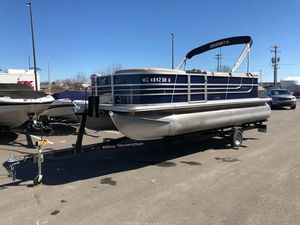 Used Starcraft EX 20 C with Trailer Pontoon Boat For Sale