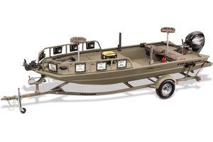 New Tracker Grizzly 1760 MVX Sportsman Jon Boat For Sale