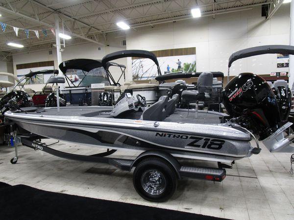 New Nitro Z18 Bass Boat For Sale
