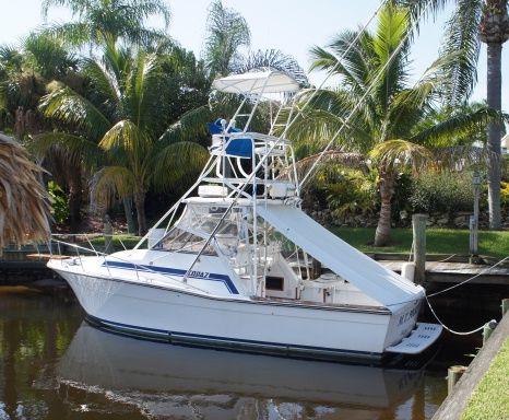 Used Topaz 29 Sportfisherman Sports Cruiser Boat For Sale