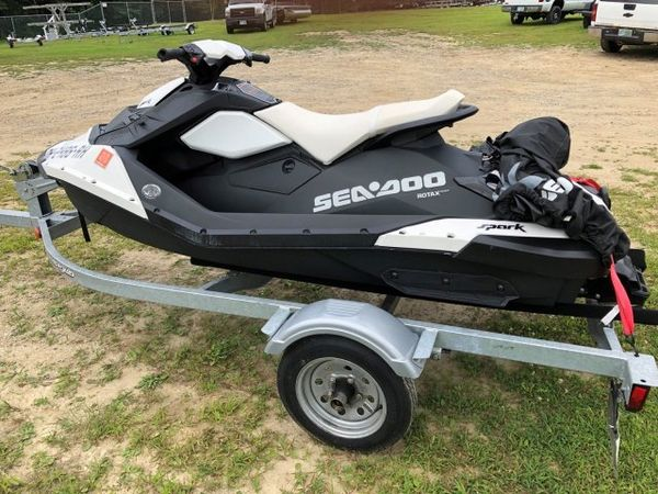 Used Sea-Doo SPARK 2UP IBR CONV Personal Watercraft Boat For Sale