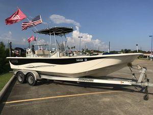 Used Carolina Skiff DLV Series 258 Center Console Fishing Boat For Sale