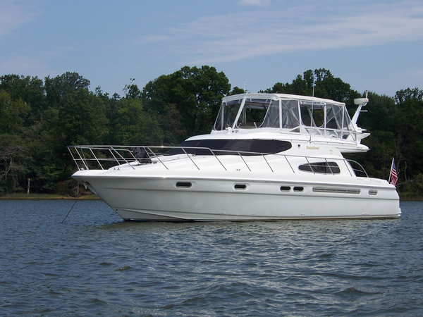 Used Sealine T51 Motor Yacht For Sale